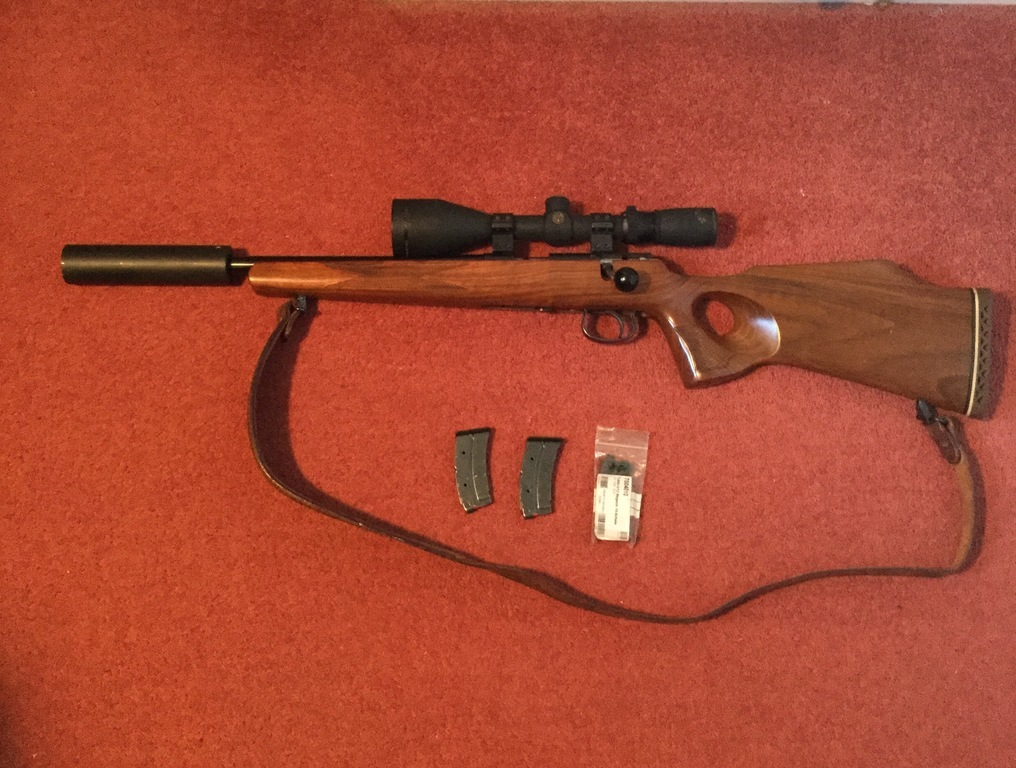 Anschutz , 1417,  22 LR, Used - Very Good Condition, Bolt Action