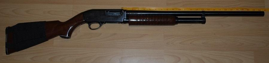 squires bingham model 30 12 gauge pump action ambidextrous used