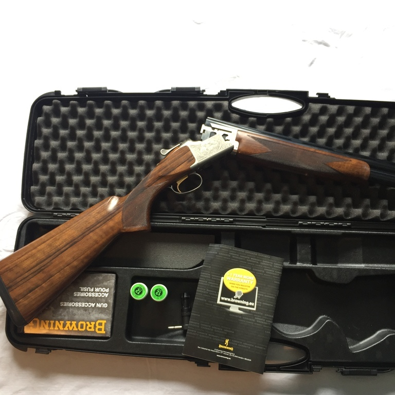 Browning, B525 Game One , 12 gauge, Over and Under, Right